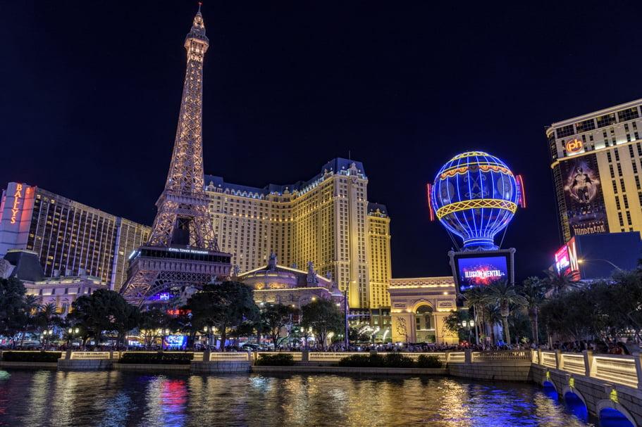 Paris hotel and casino on the Las Vegas Strip