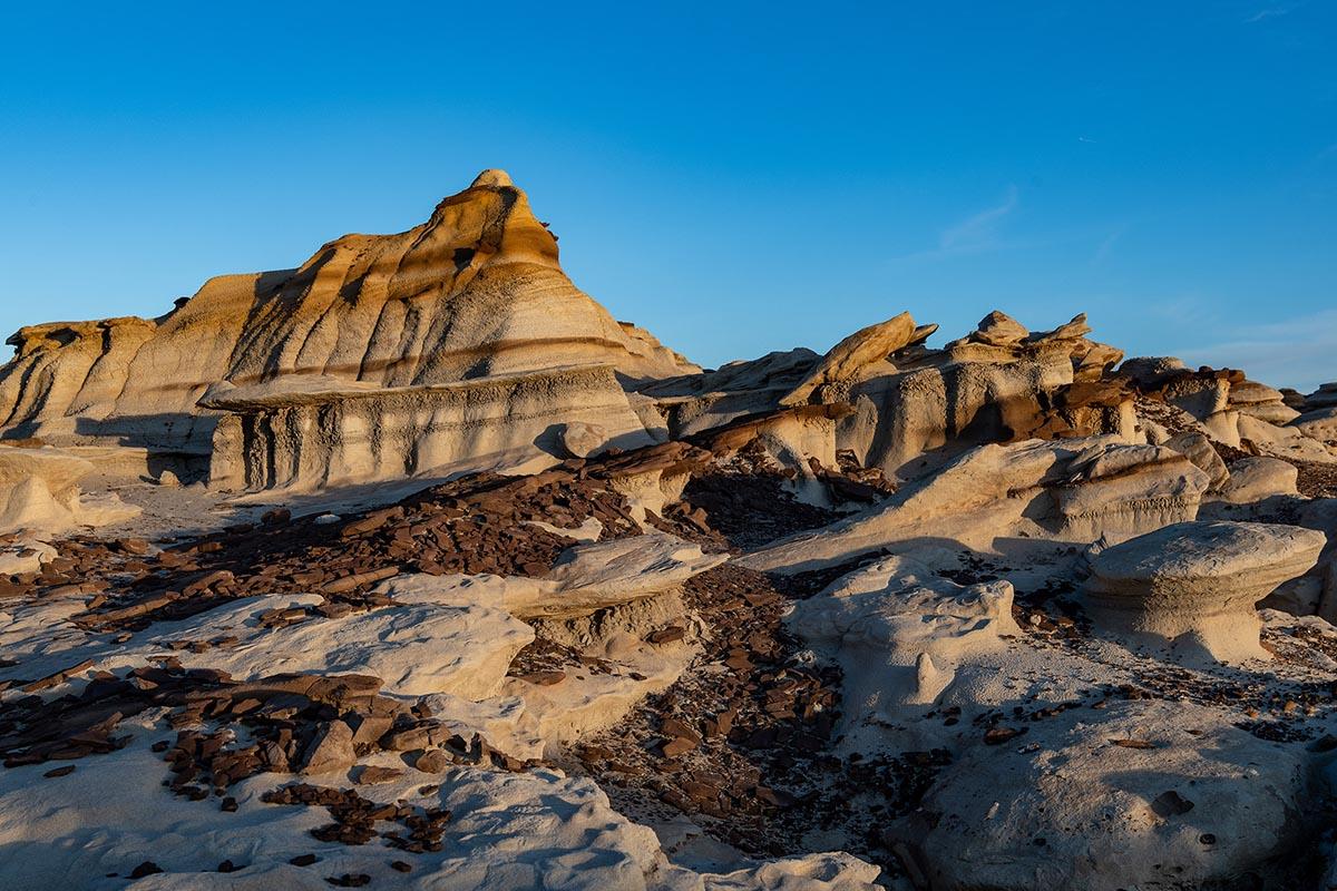 Bisti Badlands outside of Farmington, New Mexico