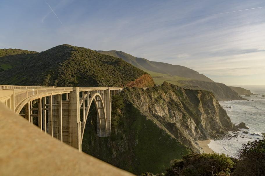 Bixby Creek Bridge in Monterey, CA