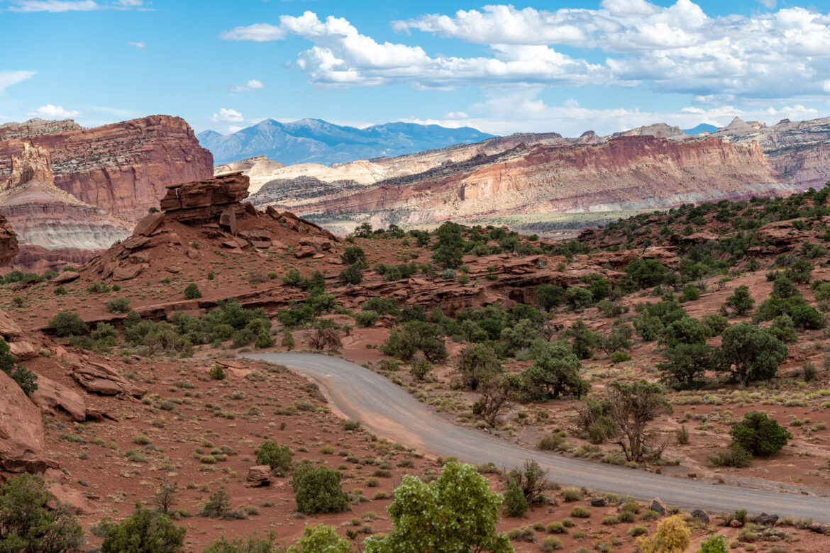 Panorama Point at Capitol Reef National Park