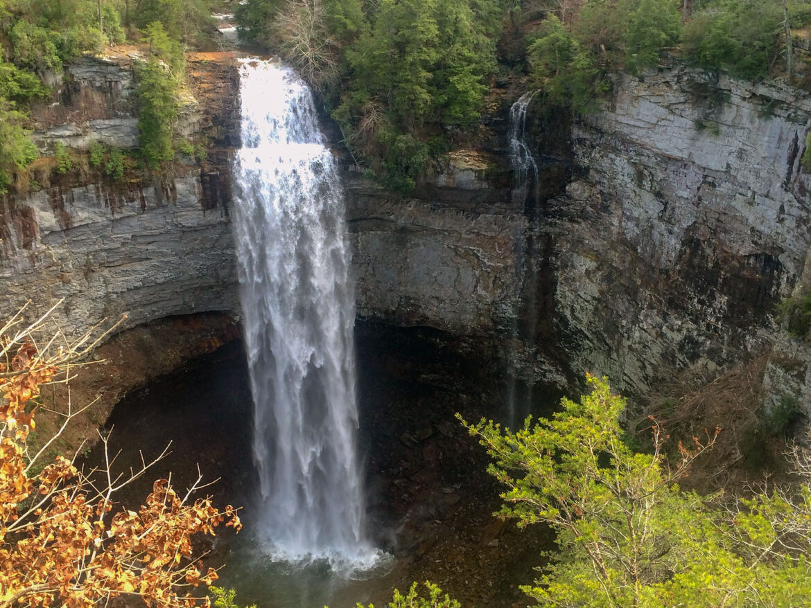 Fall Creek Falls in Spencer, Tennessee