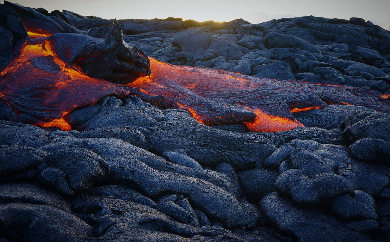Lava field at Hawaii Volcanoes National Park