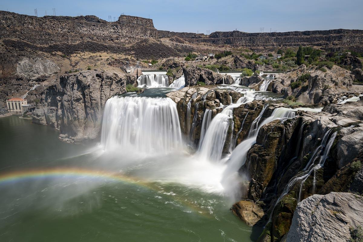 Shoshone Falls in Twin Falls, Idaho