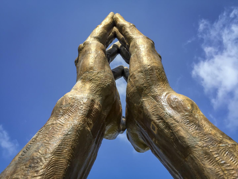 Praying Hands in Tulsa, Oklahoma