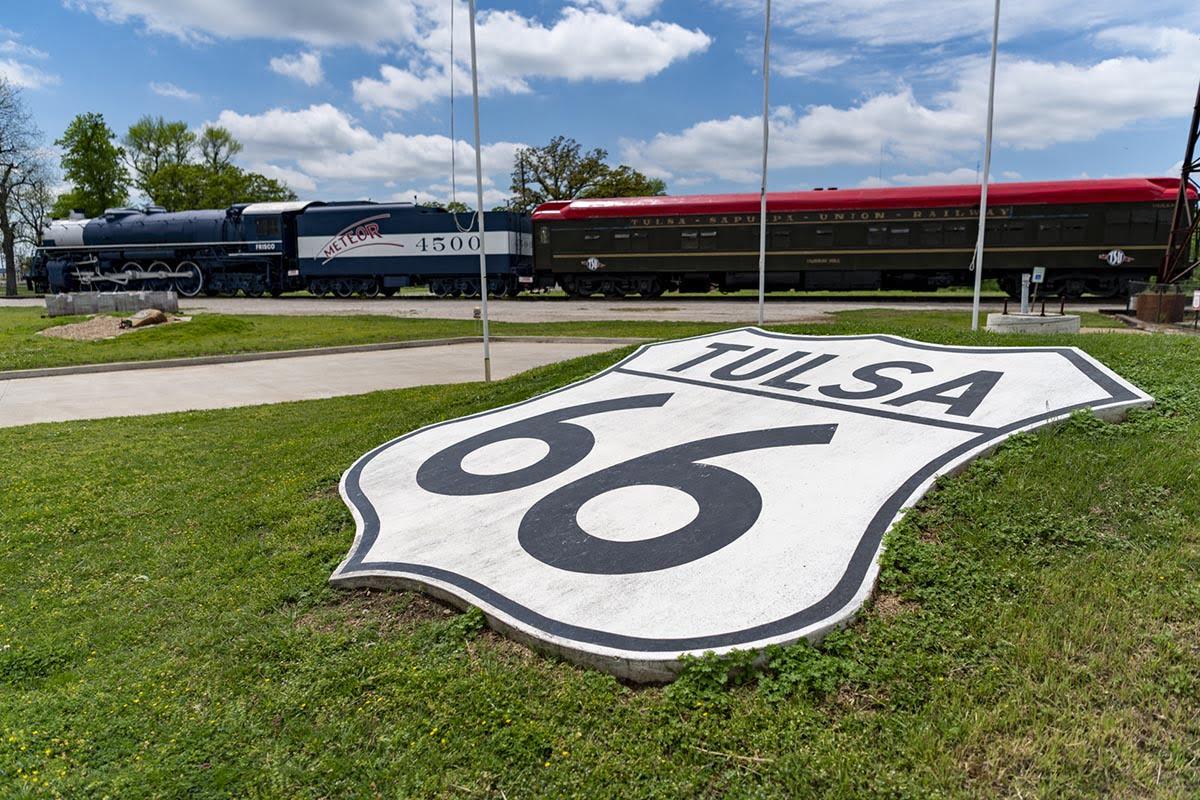 Tulsa Route 66 Sign