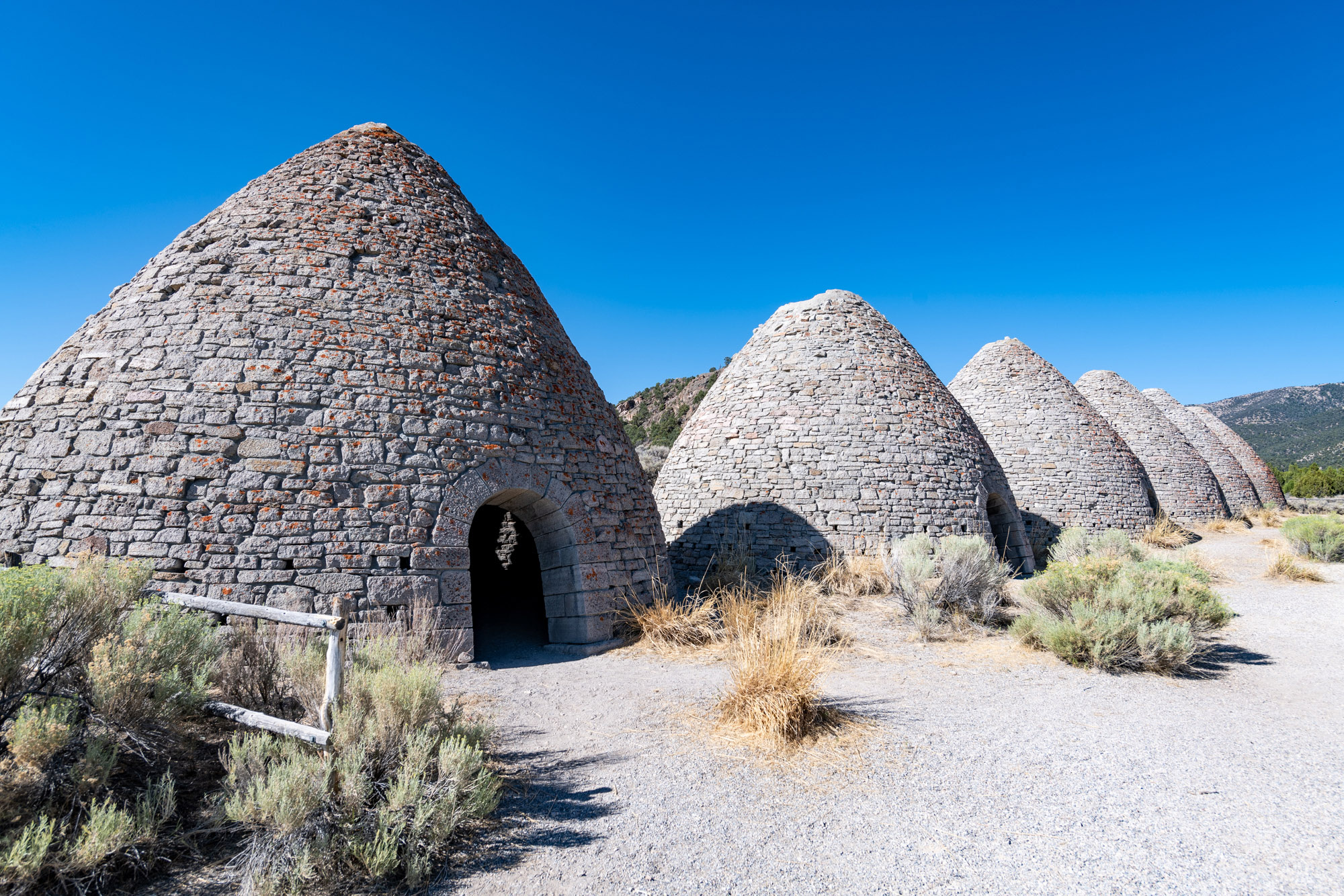 Ward Charcoal Ovens State Park