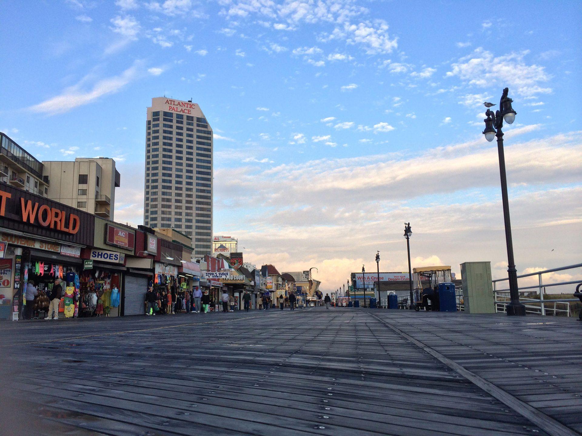 Atlantic City, New Jersey boardwalk