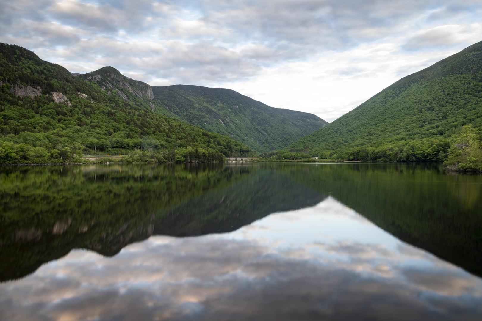Echo Lake, Franconia, NH