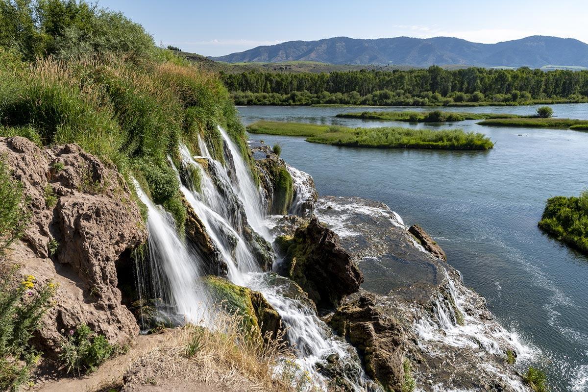 Fall Creek Falls, Swan Valley, Idaho