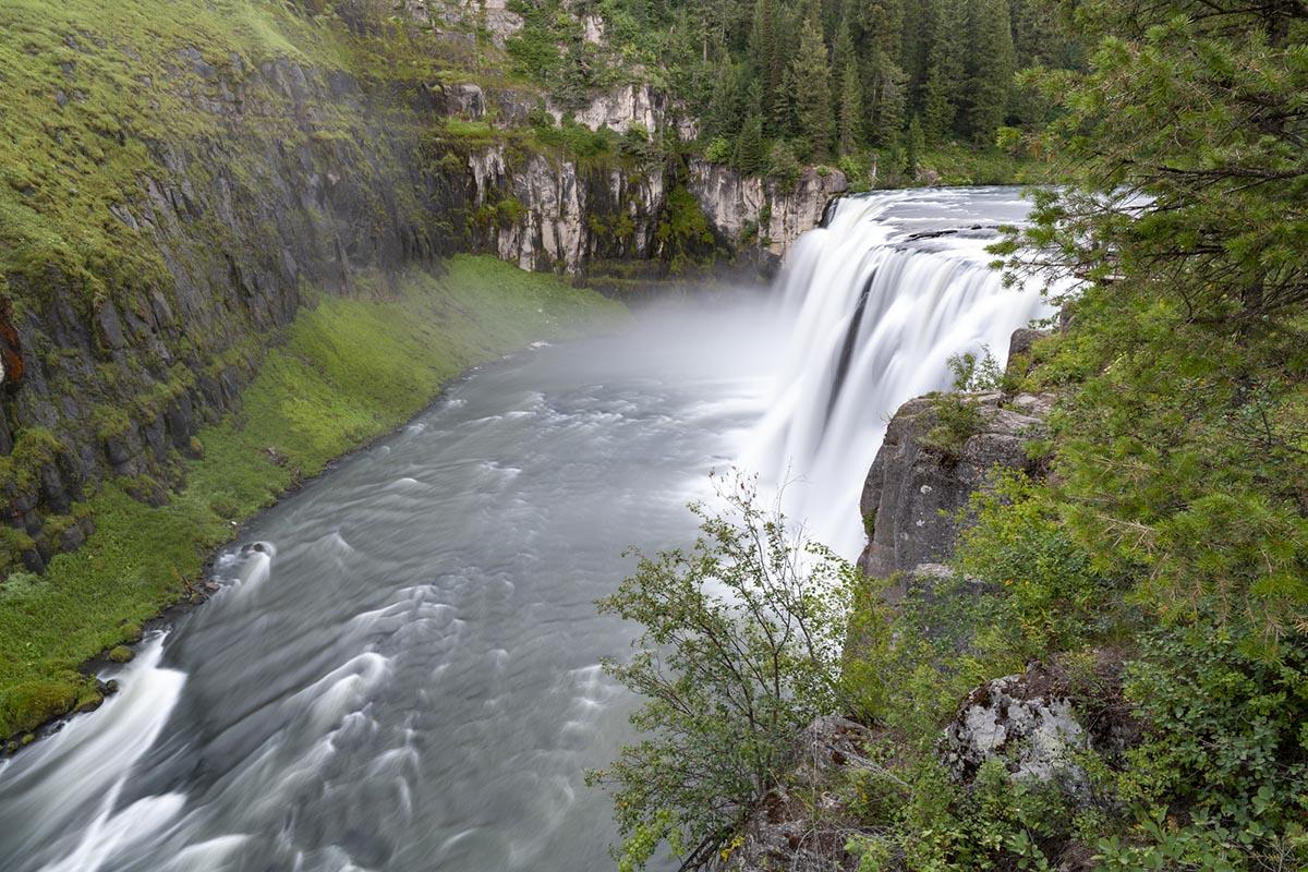 Mesa Falls in Ashton, Idaho