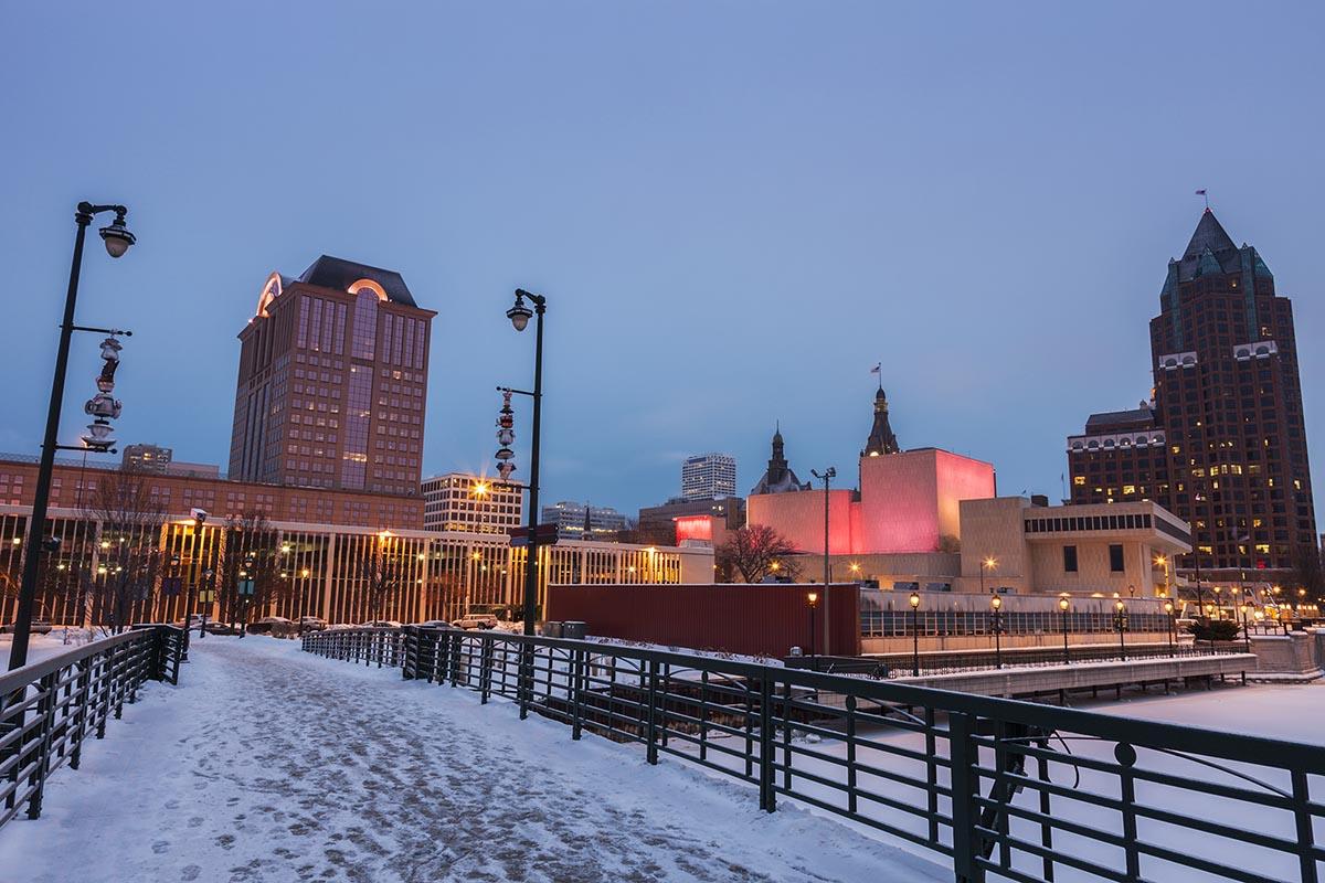 Milwaukee, Wisconsin in Winter