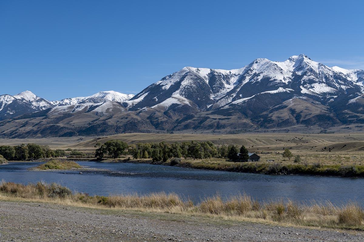Yellowstone River in Montana