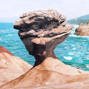 Balance Rock at Cape Kiwanda