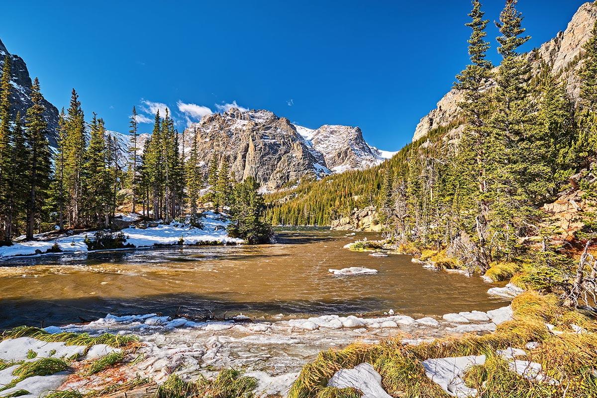 The Loch Lake, Rocky Mountain National Parkl
