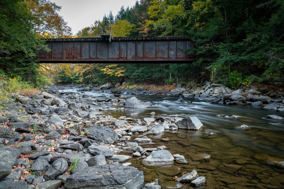 The Mascoma River in Lebanon, New Hampshire