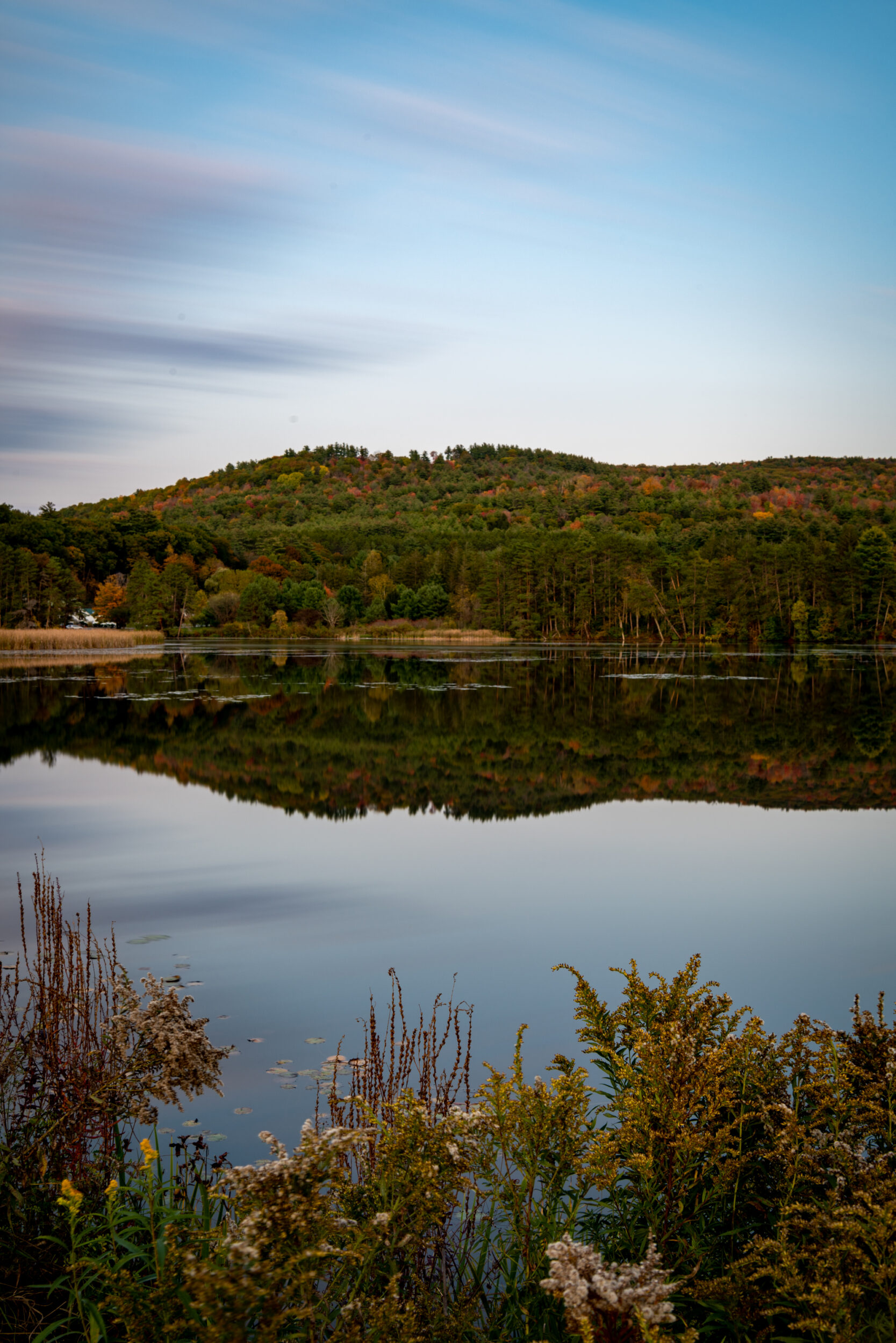 Deweys Pond. in Quechee, Vermont