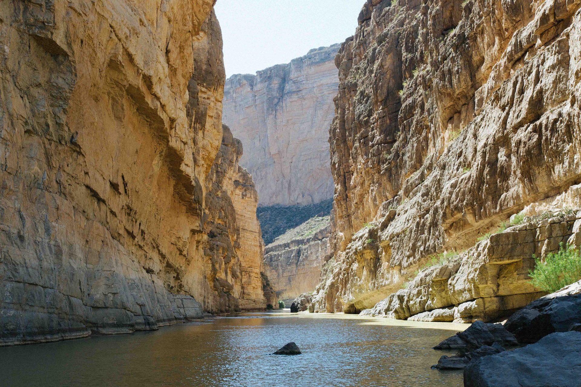 Sanat Elena Canyon - Big Bend National Park