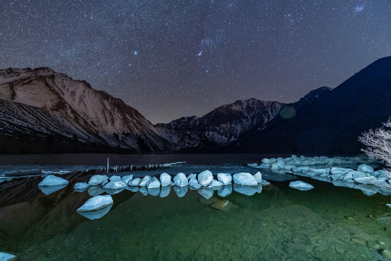 Convict Lake at Night