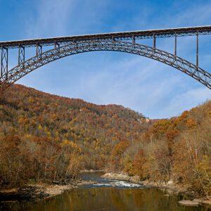 New River Gorge Bridge / JaGa, CC BY-SA 4.0, via Wikimedia Commons
