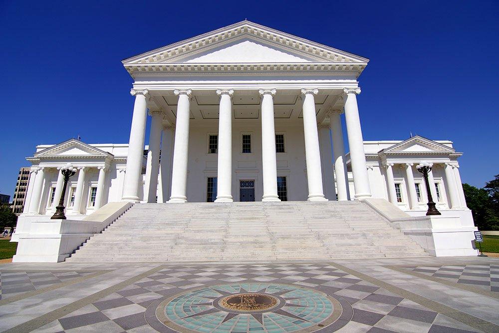 Virginia State Capitol Building / Skip Plitt - C'ville Photography, CC BY-SA 3.0 , via Wikimedia Commons