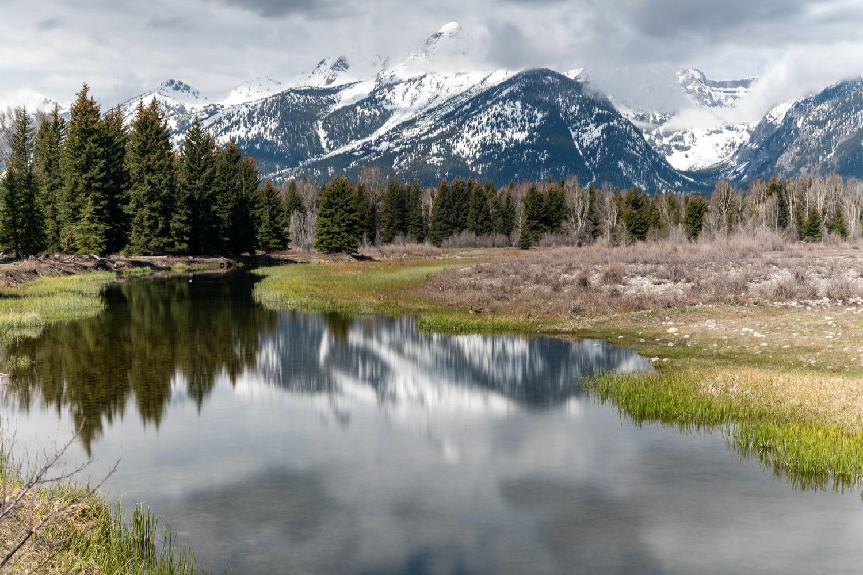 Schwabacher Landing in Grand Teton National Park
