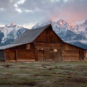 T.A. Moulton Barn in Grand Teton National Park